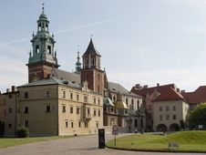 Wawel Castle. Krakow. Poland. Royalty Free Stock Photos