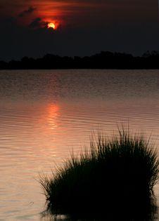 Free Sunset Solitude Stock Image - 4666501