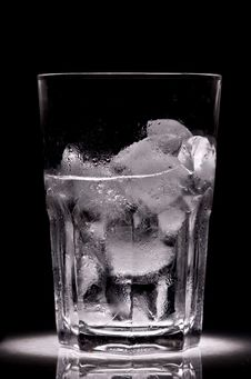 Ice For Cocktail Stock Photos