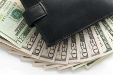 Free Wallet And Money Stock Photography - 4667142