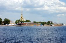 Free St.-Petersburg, The Peter And Paul Fortress Royalty Free Stock Photography - 4667787