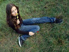 Free Beautiful Teenage Girl Stock Images - 4668034