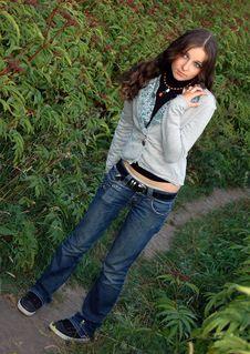 Free Beautiful Teenage Girl Stock Photography - 4668102