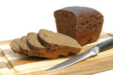 Free Loaf Of Sliced Grain Bread Stock Image - 4668681