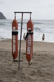 Surf Lifeguard Belts Stock Images