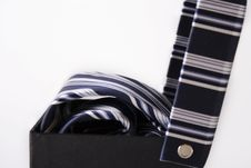 Free Silk Necktie With Box Royalty Free Stock Image - 4669656