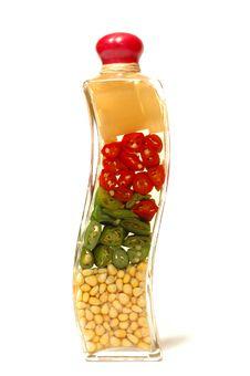 Free Vegetables Inside The Bottle Stock Images - 4669854