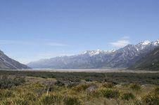 Free Tasman Valley Royalty Free Stock Images - 4669959