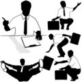 Free Businessman With Briefcase Royalty Free Stock Photography - 4671537