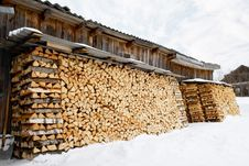 Free Woodpile Stock Royalty Free Stock Photography - 4670507