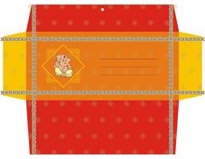 Free Indian Wedding Gift Envelops Royalty Free Stock Photography - 4671047