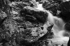 Free Huanggong Ravine Water Royalty Free Stock Photos - 4671118