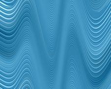 Free Wavy Blue Lines Stock Photo - 4671230