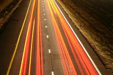 Tail Light Pattern Royalty Free Stock Images