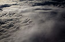Free Clouds - View From Flight 4 Stock Photography - 4671712