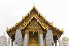 Wat Phra Kaew Temple, Bangkok Stock Photos