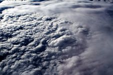 Free Clouds - View From Flight 6 Stock Image - 4671821