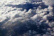 Free Clouds - View From Flight 8 Stock Image - 4672061