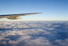 Free Clouds - View From Flight 24 Stock Image - 4672121