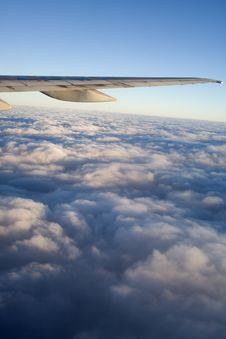 Clouds - View From Flight 25 Royalty Free Stock Image