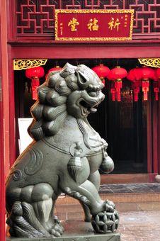 Free Chinese Buddhist Shrine Stock Images - 4672454