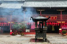 Free Chinese Buddhist Shrine Stock Photography - 4672512