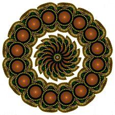 Free Coral Encrusted Mandala Royalty Free Stock Images - 4672539