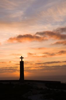 Free Cross, In Cape Of Roca Royalty Free Stock Photos - 4672838