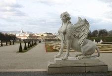 Free Belvedere, Vienna Royalty Free Stock Images - 4673299