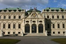 Free Belvedere, Vienna Stock Photo - 4673300