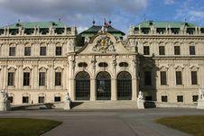 Free Belvedere, Vienna Stock Images - 4673304