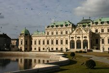 Free Belvedere, Vienna Royalty Free Stock Images - 4673329