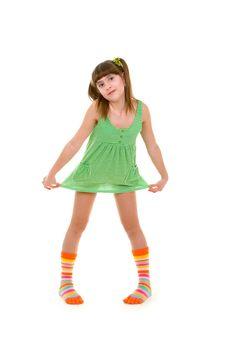 Free Happy Girl Royalty Free Stock Image - 4673436