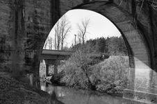 Free Under The Bridge Royalty Free Stock Photo - 4673635