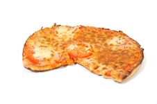 Free Eaten Pizza Royalty Free Stock Image - 4674036