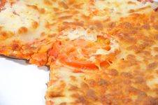 Free Close Up Of Eaten Pizza Stock Images - 4674294