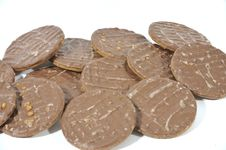 Free Chocolate Biscuits Royalty Free Stock Photos - 4674308