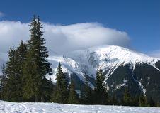 Free Cloudy Carpathian Mountains Stock Image - 4674731