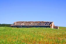 Abandoned Ruin Royalty Free Stock Photo