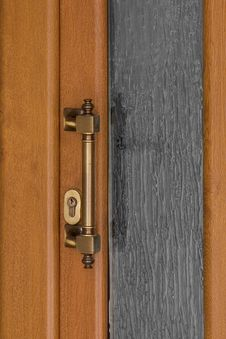 Free Elegant Door Handle Royalty Free Stock Images - 4674889