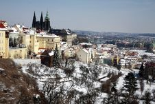 Free Winter In Prague Royalty Free Stock Photo - 4675185