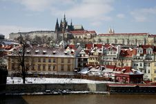 Winter In Prague Stock Images