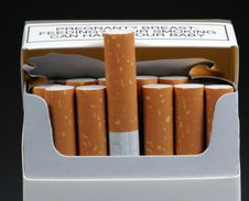 Free Cigarettes. Royalty Free Stock Photos - 4675778
