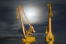 Free Old Crane Stock Image - 4675861
