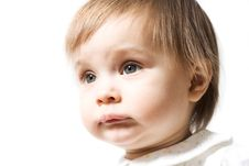 Cute One Year Baby Royalty Free Stock Image