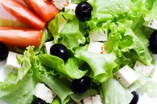 Free Fresh Salad. Royalty Free Stock Photo - 4675995