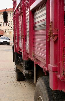 Free Asian Truck Detail Royalty Free Stock Images - 4676019