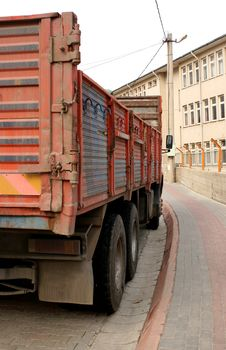 Free Asian Truck Detail Stock Photography - 4676042