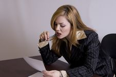 Free Work Office Royalty Free Stock Images - 4676049