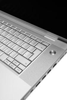 Free Modern And Stylish Laptop Royalty Free Stock Photography - 4676387